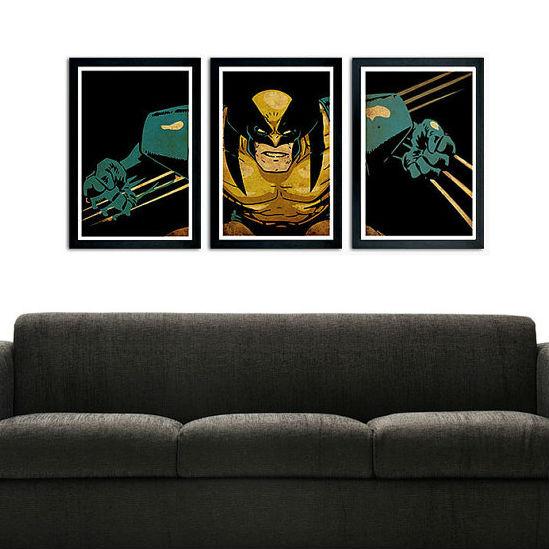 wolverine poster set
