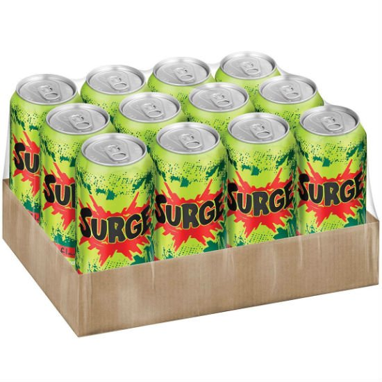 12 pack of surge soda