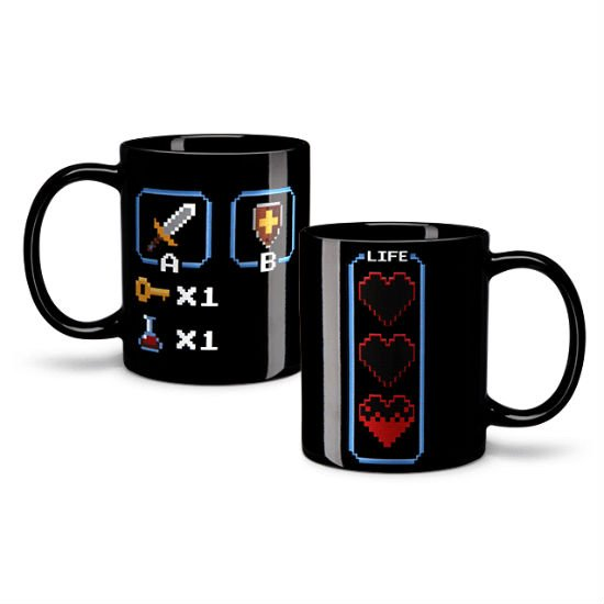8bit heat changing mugs