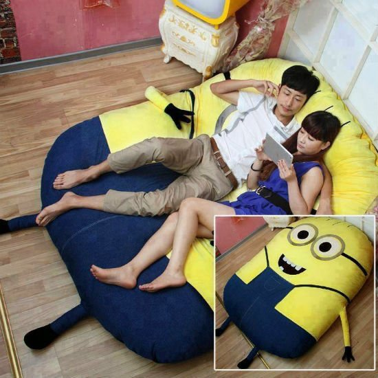Batman Bean Bag Chair Despicable Me Minion Bed | Shut Up And Take My Money