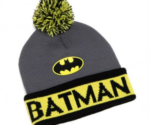 Batman Knit Beanie – How else is Batman going to keep his head warm this winter?