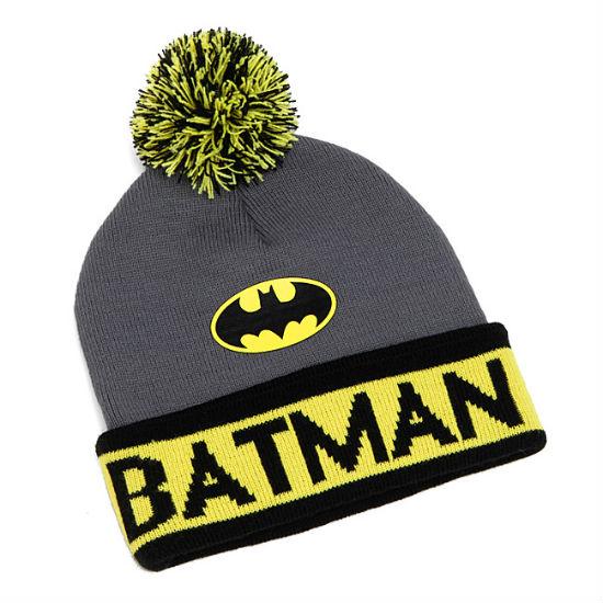 batman knit beanie