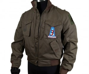 Battlestar Galactica Bomber Jacket – It's cold in space, better bring a jacket.