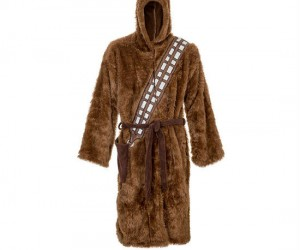 Chewbacca Bathrobe – Probably the coziest bathrobe you'll ever wear.