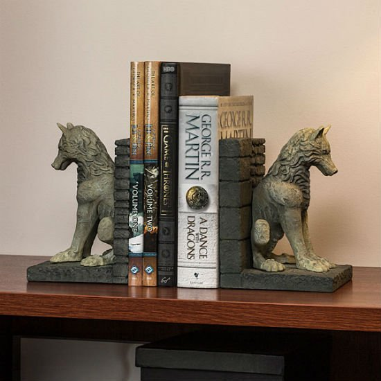 direwolf bookends