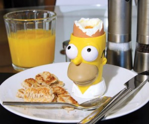 Homer Simpson Egg Cup – MMMmmmmm eggs…. *drools*