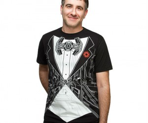 The perfect shirt to wear to a black Tie Fighter event!