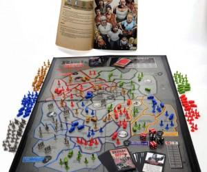 Risk The Walking Dead Edition - RISK The Walking Dead Survival Edition Board Game is based on a futuristic and apocalyptic story