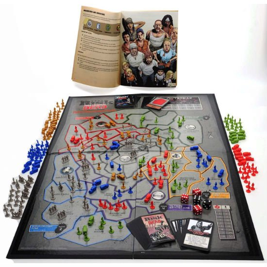 the walking dead edition risk board game