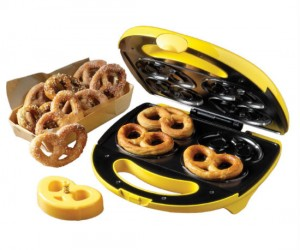 Why make waffles when you can make pretzels?