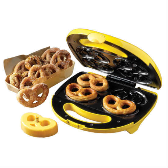 Soft pretzel maker