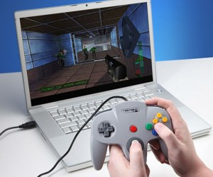 Perfect for playing those awesome N64 emulators on your laptop!