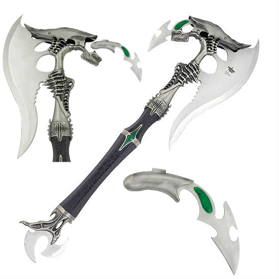 Best Fridge For The Money Alien Battle Axe With Removable Dagger | Shut Up And Take ...