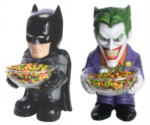 Batman and Joker Candy Dish Holders – I don't know if I'd trust the candy the Joker is handing out.