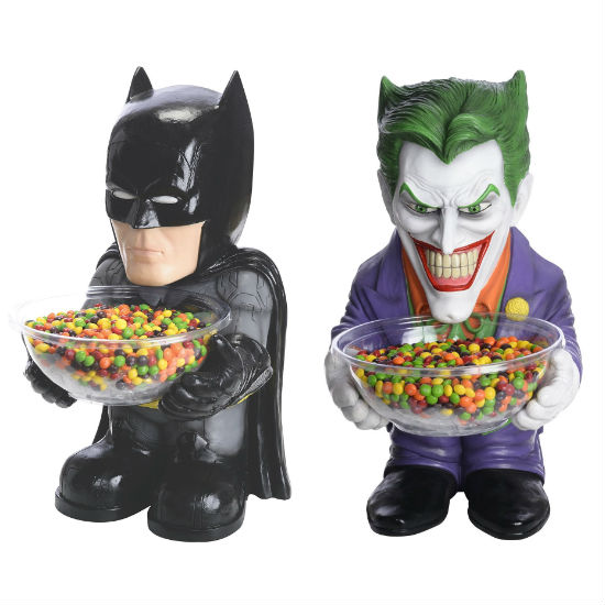 batman joker candy dish holders