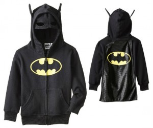Batman Kid's Costume Hoodie – Perfect for your little winged vigilante in training