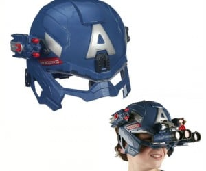Captain America Battle Helmet - Gear up just like your favorite patriotic Avenger with the Battle Helmet!