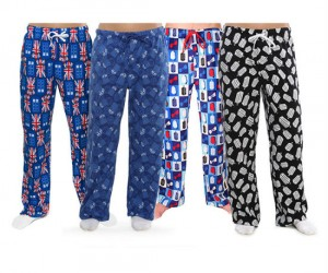 Doctor Who Pajama Pants  - Comes in 4 different styles… just what the Doctor ordered!