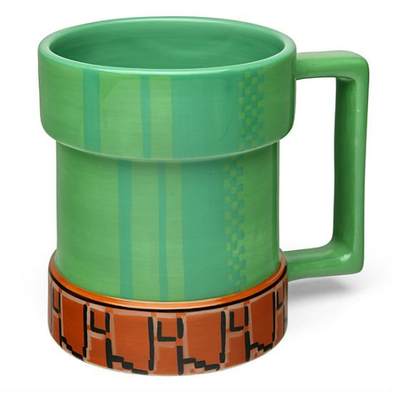 level up pipe mug