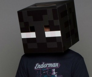 Who doesn't want to be the creepiest Minecraft creature for Halloween?