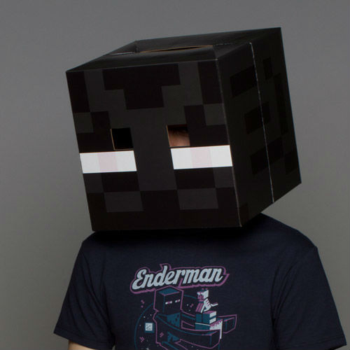 minecraft enderman mask