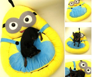 Your pet is like your own little minion so it's only fitting you give them this bed!
