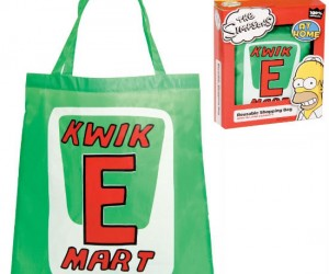 Thank you, come again! And bring back your reusable Kwik-E-Mart shopping bag!
