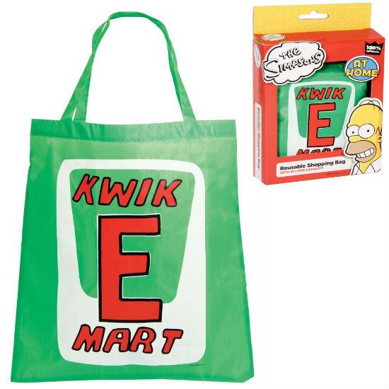 the simpsons reusable kwik e mart shopping bag