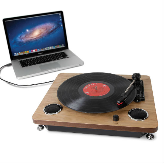 vinyl record to mp3 turntable