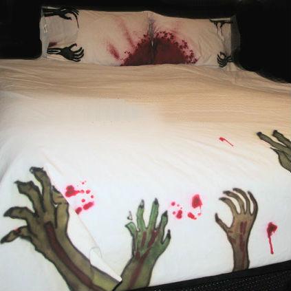 zombie bedding set