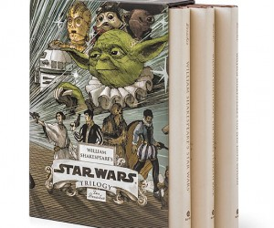 May the verse be with you! Enjoy all three William Shakespeare's Star Wars books in one convenient box set!