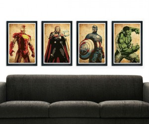 Avengers Poster Set – Avengers assembled in poster form!