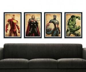 Avengers Poster Set – Avengers assembled in poster form!