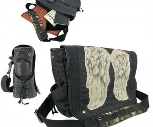 The Walking Dead Daryl Dixon wings messenger bag – 'Claim' yours before someone else gets it.
