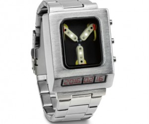 Flux Capacitor Wrist Watch – With the world's first time traveling watch, you'll never be late again!