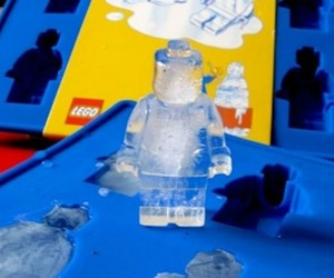Lego Man Ice Cube Tray – It can also be used as a chocolate mold!