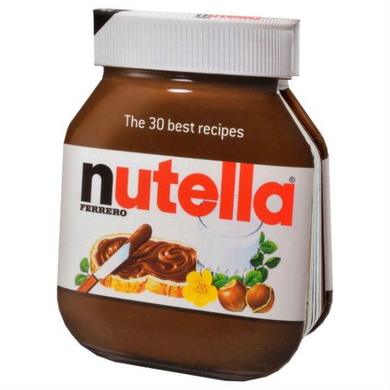 nutella recipe book
