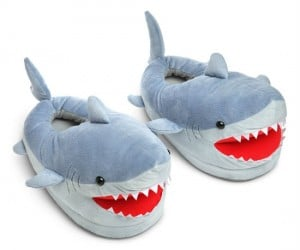 Shark Slippers – It's like Shark Week for your feet!
