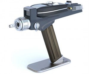Star Trek universal remote gesture based phaser  - Set phasers to relax!