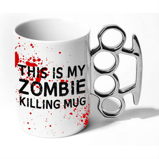 this is my zombie killing mug