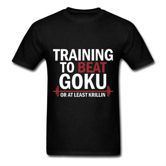 training to beat goku tee