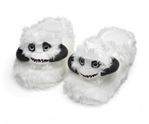 Nothing keeps feet warmer than the inside of a wampa