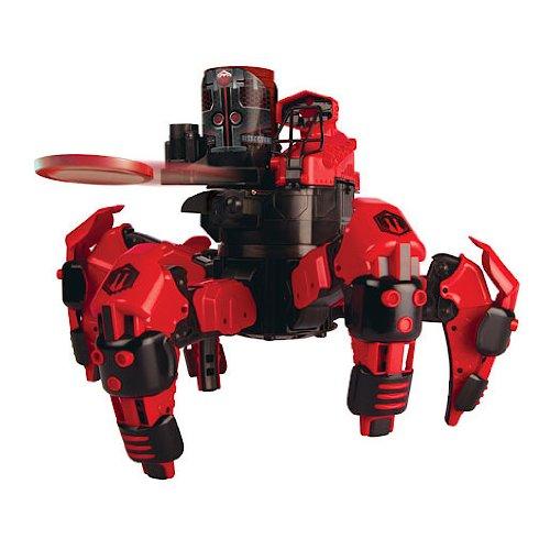 battling robot spider