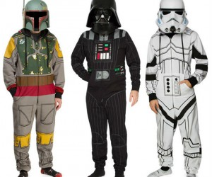 Star Wars Loungers – Imperial sleepwear that's snugglier than a baby ewok.