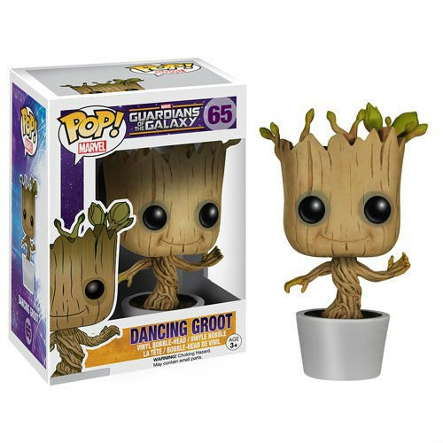 dancing groot pop vinyl