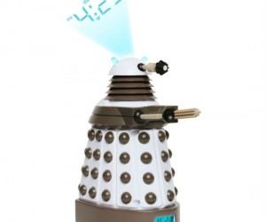 Don't worry, this Dalek is only programmed to wake you, not EXTERMINATE you.