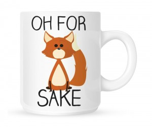 Like this mug? Then buy it for fox sake.
