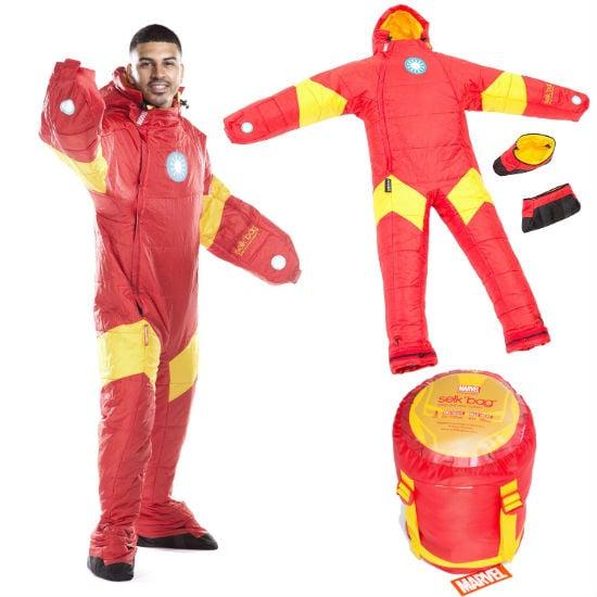 iron man wearable sleeping bag