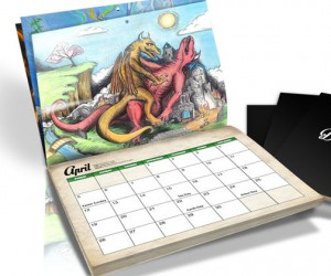 The Dragon Sex Calendar – It's the Kama Sutra of the fantasy world.