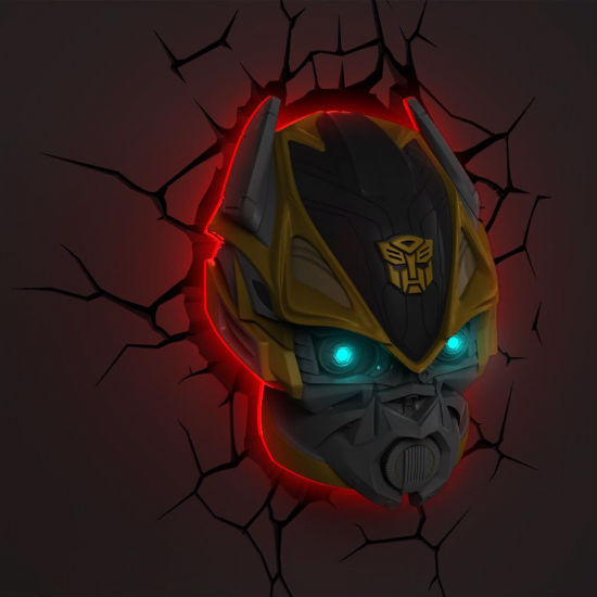 transformers bumblebee nightlight